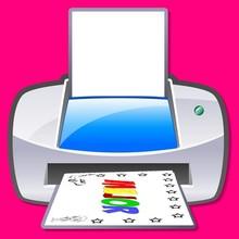Coloriage : La Machine à prénom