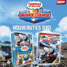 Gagne des DVD de Thomas et ses amis !