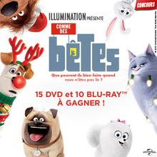 Gagne des DVD de Comme des bêtes !
