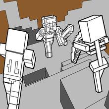 Minecraft - Combats de Dungeons dangereux