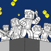 Explorez le monde de Minecraft