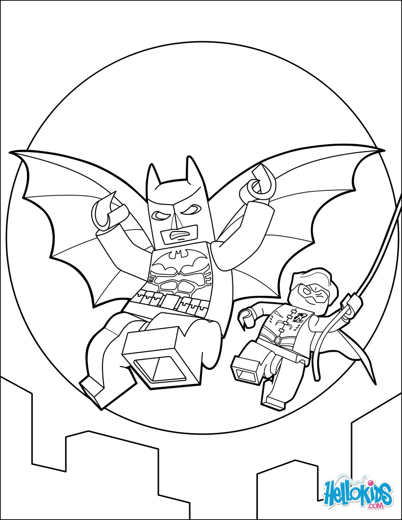 Coloriages lego batman - Coloriage batman ...