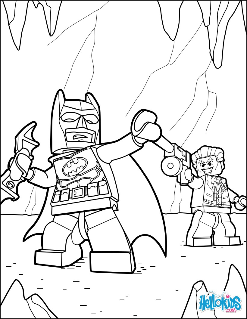 Coloriages lego batman et joker - Image batman a colorier ...