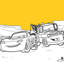Coloriage Disney : Cars