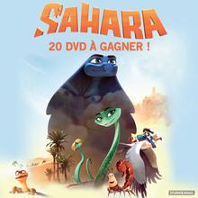 Des DVD de SAHARA à gagner !