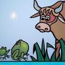 Histoire : La grenouille et le boeuf