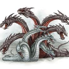 Le Dragon à plusieurs têtes et le Dragon à plusieurs queues