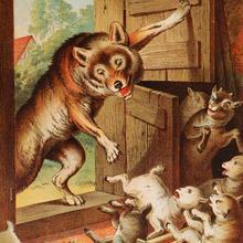 Conte : Le loup et les sept chevreaux