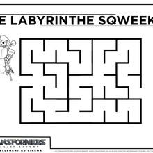 Jeux Transformers Labyrinthe 1