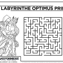 Jeux Transformers Labyrinthe 2