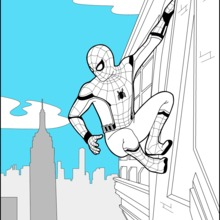 Coloriages Spiderman Homecoming 2 Fr Hellokids Com