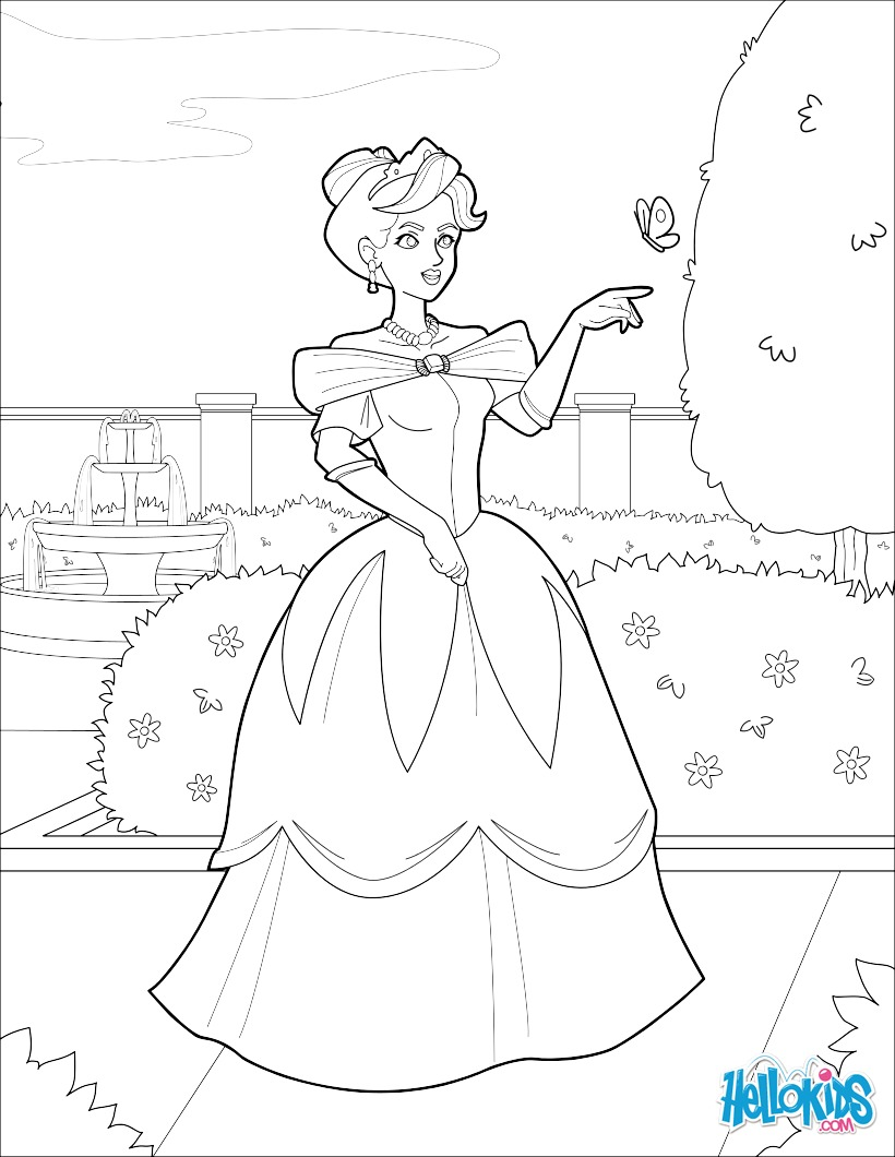 Coloriages princesse adulte - Princesse adulte ...