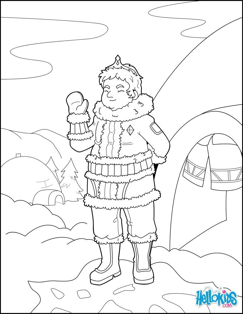 Coloriage : Prince des Neiges