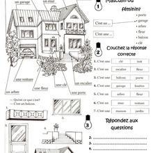 Histoire : Fiche Francais La Maison