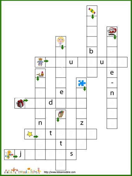 Populaire Contes pour enfants mots croisés noël à lire - fr.hellokids.com CO73