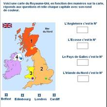 Histoire : Fiche Anglais Le Royaume-Unis