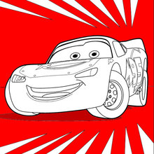 Coloriage Disney : Cars 3: Flash McQueen