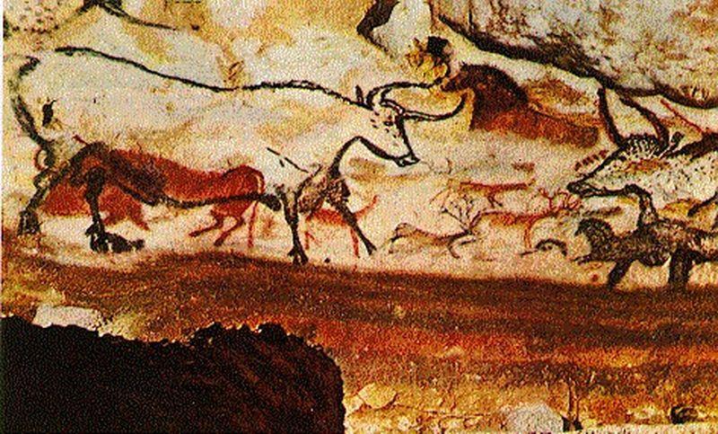 Contes pour enfants grotte de lascaux lire - Coloriage grotte ...