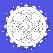 Mandala de Fleurs
