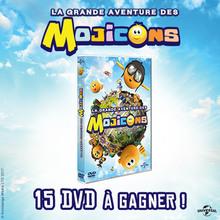 Gagne des DVD de Mojicons !