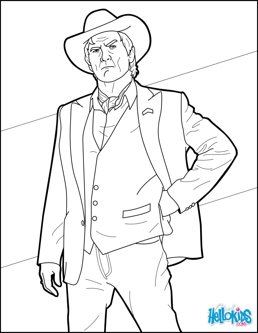 Coloriage : Agent Champagne