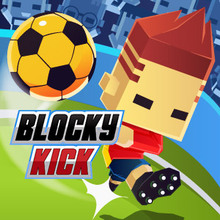 Jeu : Blocky Kick