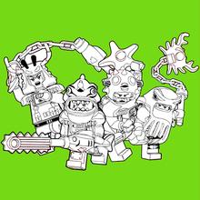 Coloriage : Lego Ninjago - Les méchants 2