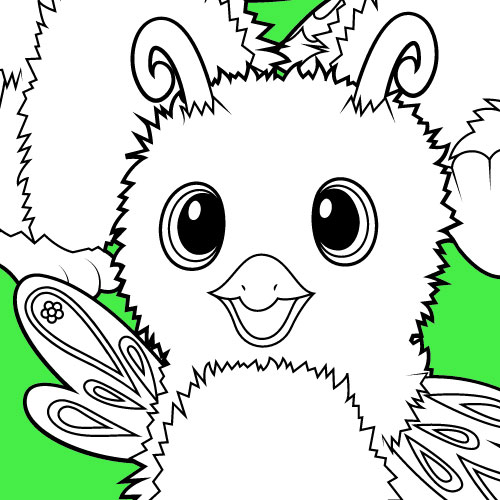 hatchimals coloriage
