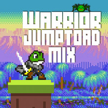 Jeu : Warrior Jump Toad Mix
