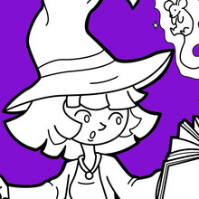 Coloriage Halloween 384 Coloriages D Halloween Gratuits à