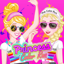 Jeu : Princess Color Run