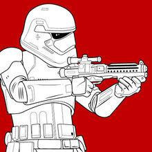 Stormtrooper du Premier Ordre au combat