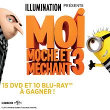 Gagne des DVD et Blu-ray de Moi Moche et Méchant 3 !