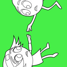 Gene et Princesse Emoji Linda