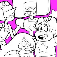 Steven et les Gemmes de Cristal