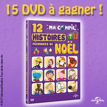 Gagne des DVD de Ma Compil 12 histoires féeriques de Noël !