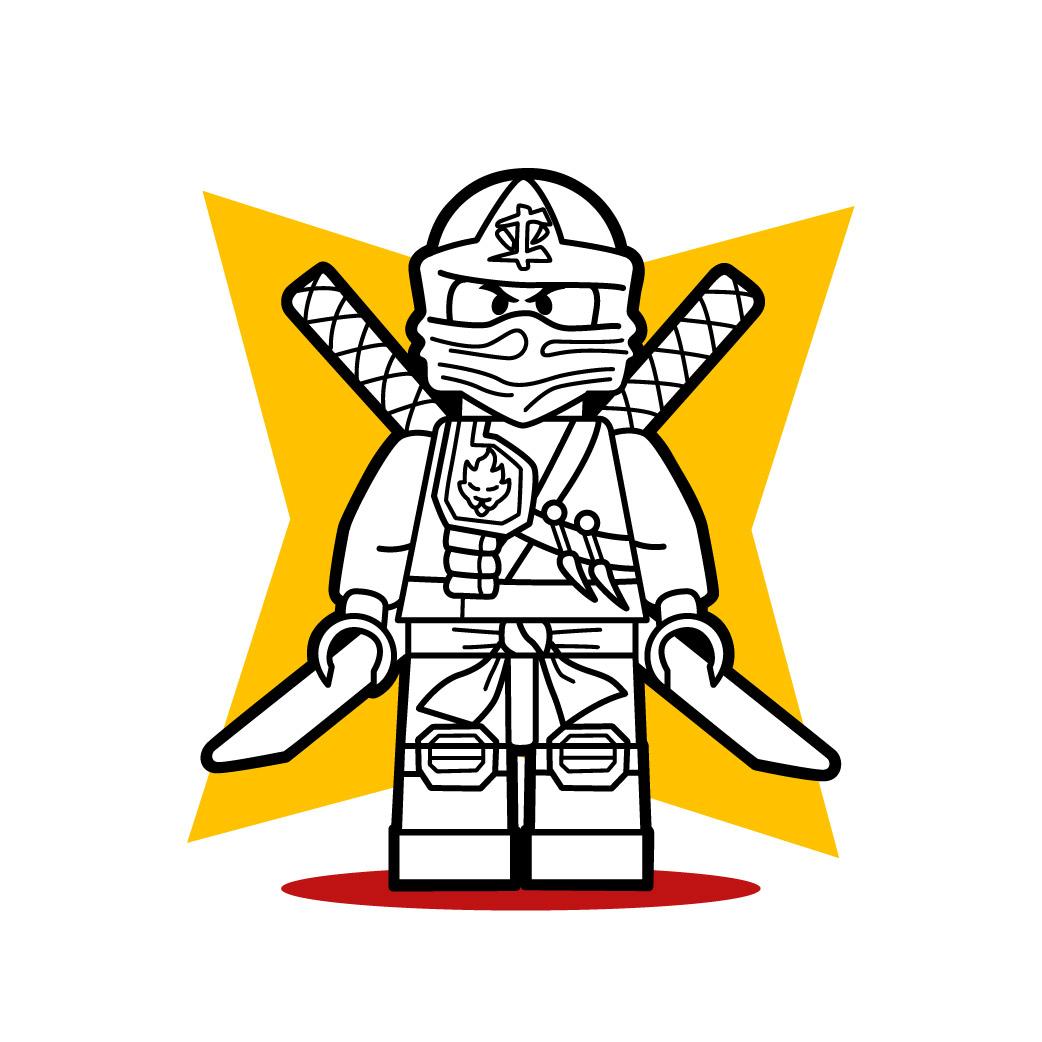 Tuto dessin Lego Ninjago