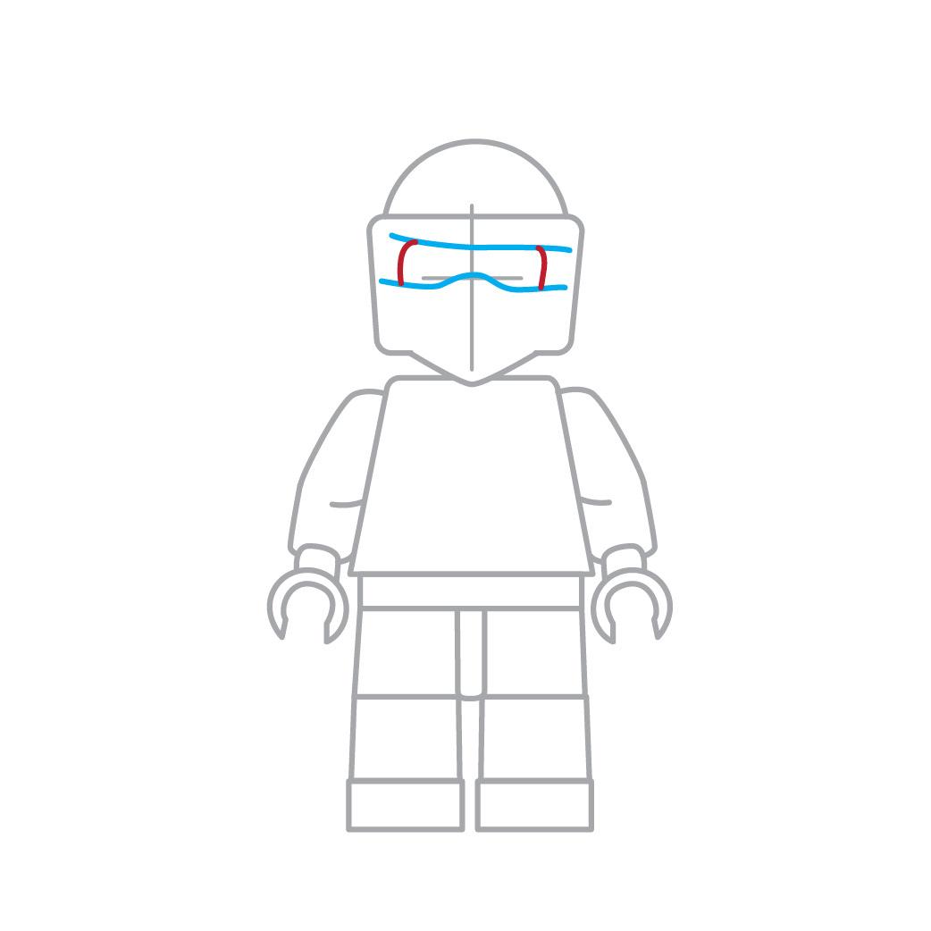 Comment dessiner le lego ninja de ninjago - Dessiner un ninja ...
