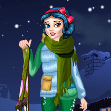 Jeu : Princess Winter Skiing