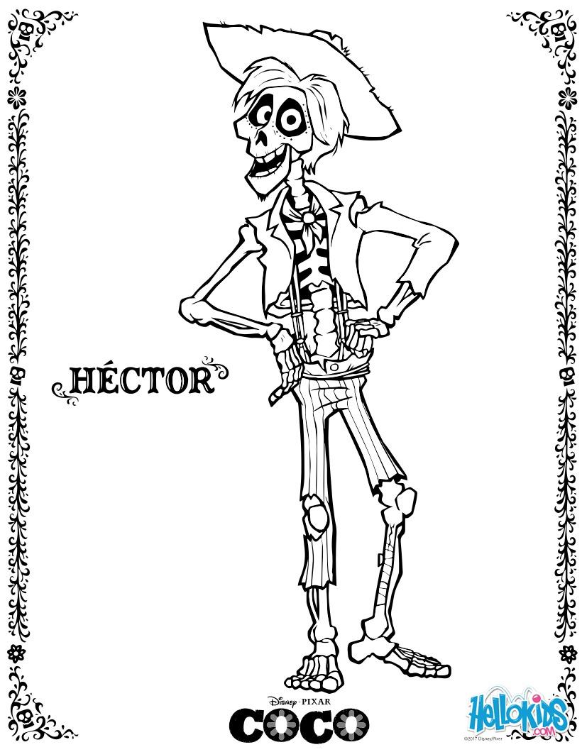 Coloriage Disney : Héctor