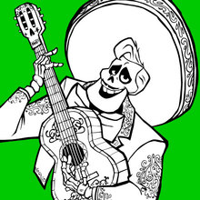 Coloriage Disney : Ernesto
