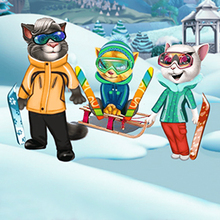 Jeu : Cats Winter Fun