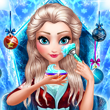 Jeu : Ice Queen New Year Makeover