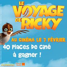 Gagne des cadeaux du film LE GRAND VOYAGE DE RICKY !
