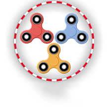 Jeu : Fidget Spinner Multiplayer
