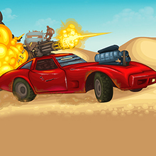 Jeu : Road of Fury: Desert Strike
