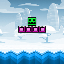 Jeu : Geometry Neon Dash Subzero