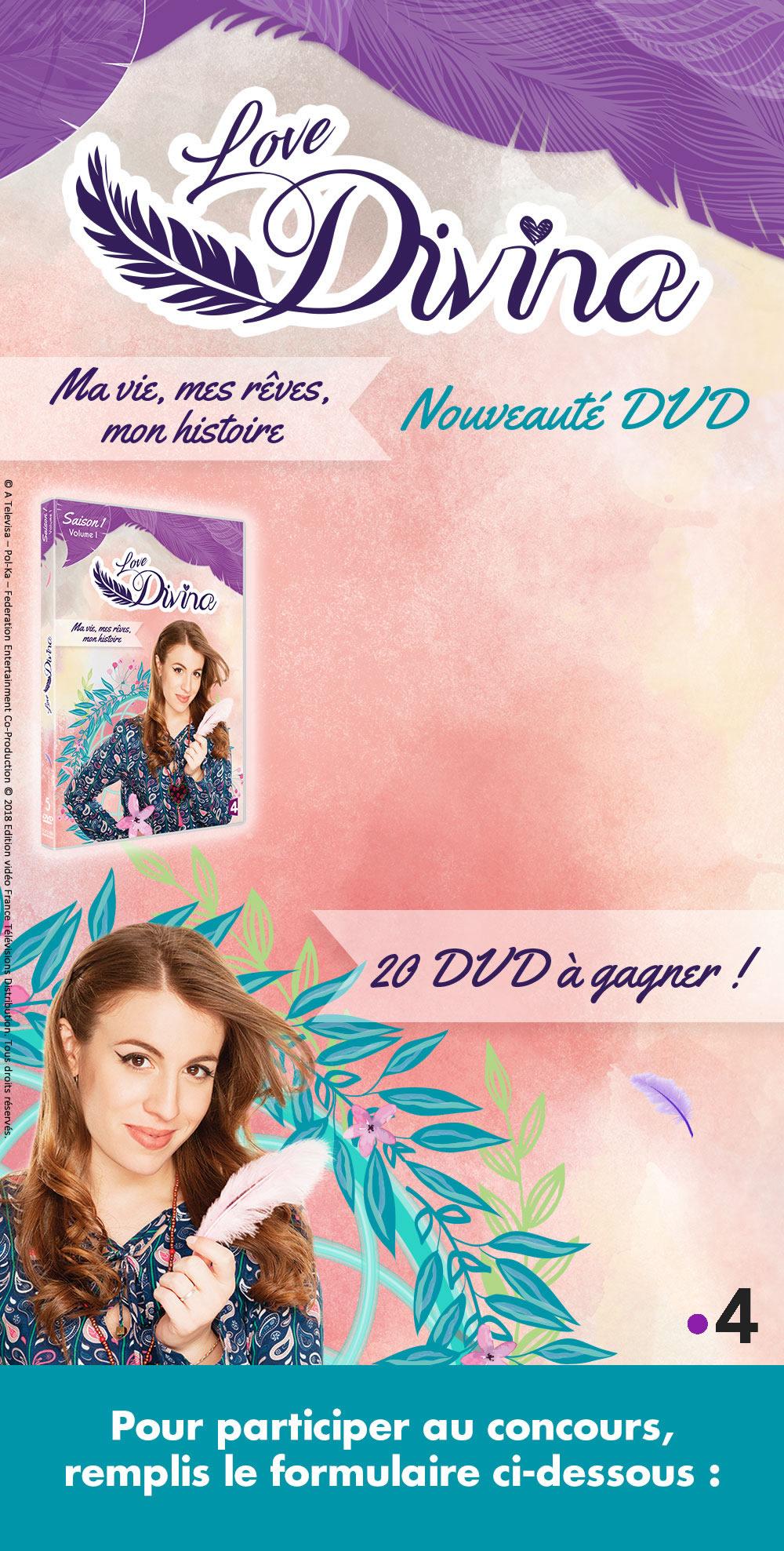 Gagne des DVD de Love Divina !