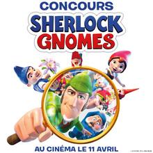 Sherlock Gnomes au cinéma le 11 avril !