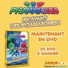 Des DVD de PYJAMASQUES à gagner !